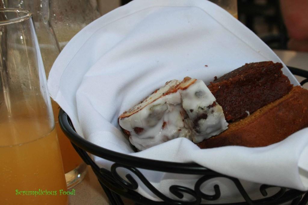 Sfuzzi bread for brunch