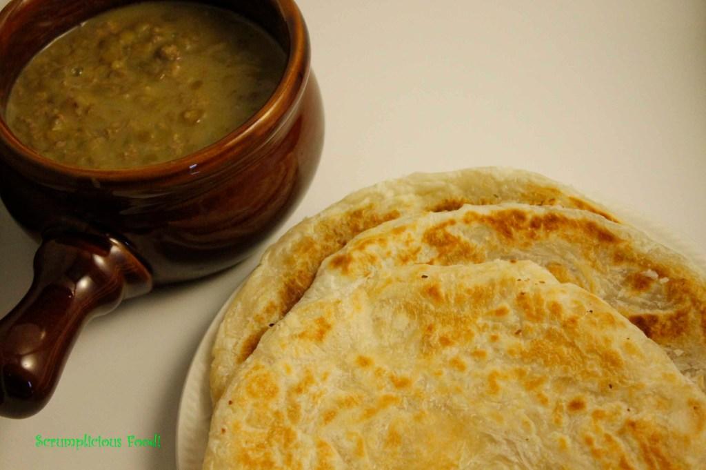 Lentil Stew and Paratha