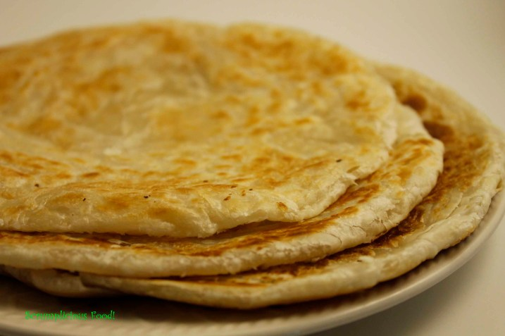 Parathas/ substitute for Chapati