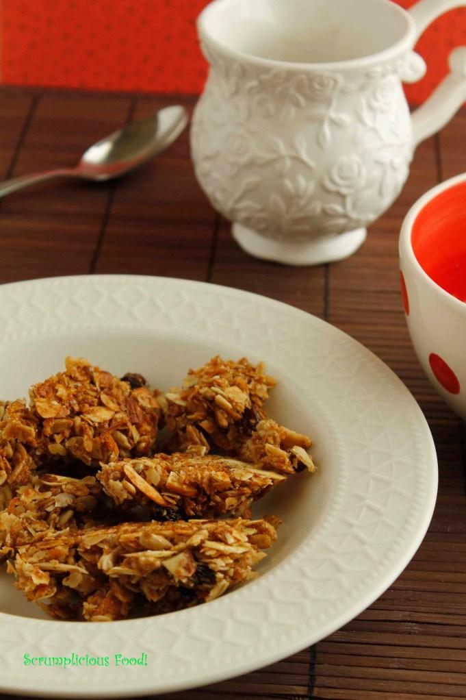 Muesli for breaksfast