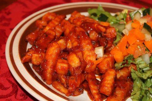 Masala Chips, Masala fries at home