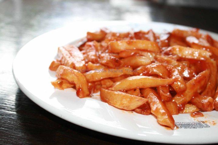 Masala chips, Masala fries